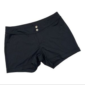 Athleta Running Workout Athletic Button Shorts S